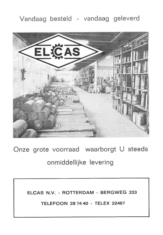 Elcas 1960 in Gietijzer